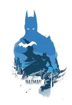 Batman Poster Design - Superheroes geek Wall art print - Available in different sizes. Batman Poster, Superhero Poster, Batman Und Catwoman, Im Batman, Illustration Batman, Batman Wall Art, Comic Art, Super Anime, Batman Wallpaper