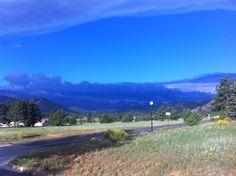 """Estes Park """"blue"""" sky"""