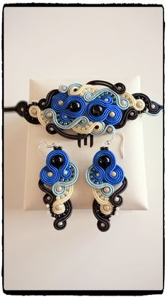 "Soutache set ""Milo"" no.2"