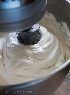 Fluffy Brown Sugar Icing