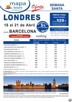 Londres Semana Santa salida Barcelona 18 Abril **Precio Final desde 529** ultimo minuto - http://zocotours.com/londres-semana-santa-salida-barcelona-18-abril-precio-final-desde-529-ultimo-minuto/