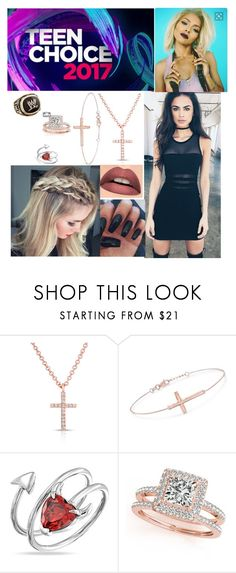"""""""🌺Delilah🌺 At the Teen Choice Awards"""" by rroyalserena ❤ liked on Polyvore featuring Tiger Mist, Anne Sisteron, Ross-Simons, Bling Jewelry, Allurez, WWE, Hello Darling and jaelynnamidala"""