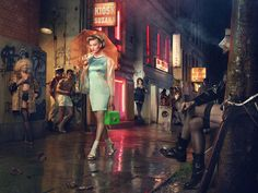 Available for sale from Hamiltons Gallery, Erwin Olaf, Ich war noch niemals in New York trifft Querelle - Reeperbahn Kiez Chromogenic print mounted… Erwin Olaf, Theatre Stage, Theater, Colouring Pics, New York, Models, Photojournalism, Creative Photography, Cool Photos