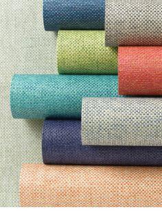 Tocar para creer: Papel pintado con texturas