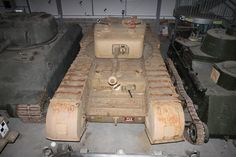 A22 Infantry Tank Mark IV Churchill VI from the collection of the tank Museum in Bovington