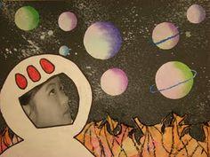 grade outer space art teacher solar system art, outer space и art lesso Solar System Art, Outer Space Theme, Outer Space Crafts, 3rd Grade Art, Pet Shop Boys, Ecole Art, Art Lessons Elementary, Art Classroom, Art Plastique