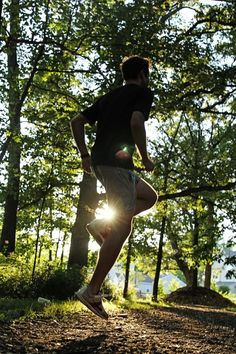 Runner with Sunlight - Imagebase Sunlight, Jogging, Athlete, Competition, Running, Workout, Fitness, Outdoor, Walking