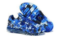 Nike Air Max 2013 Camouflage Blue Men's shoes