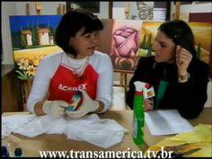 Tv Transamérica - Pintura em seda