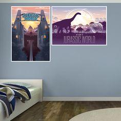 Jurassic World Souvenir Poster Murals