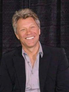 Love his smile! Jon Bon Jovi, 2014