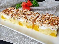 Vanilla Cake, Cheesecake, Food And Drink, Fruit, Sweet, Desserts, Recipes, Peaches, Nova