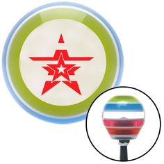 Red Stars With Stripes Stripe Shift Knob with M16 x 15 Insert - Give your interior the ultimate look. American Shifter's Elite(TM) series shift knobs are made from the highest quality components resulting in a superior feel on every shift. Each shift knob is designed and customized in the USA by skilled shift knob artisans who have a trained eye on every detail. American Shifters shift knobs offers an exclusive aluminum threaded insert designed to be screwed onto your shift arm. You should…