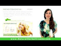 Video presentation of natural herbal creams! - Herbal Cosmetics BY Natural Herbal Creams