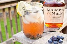 My FIANCE! Likes It, So It MUST Be Good.: Blueberry Bourbon Cocktail