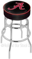 "25"" University of Alabama A Counter Stool - Swivel With Double Ring //  Description L7C1 - 4 Inch AlabamCushion Seat w/ Double-Ring Chrome Base Swivel Bar Stool belongs to College Collection by Holland Bar Stool Made for the ultimate sports fan, impress your buddies with this knockout from Holland Bar Stool. This L7C1 retro style logo stool has a 4 cushion with a tough double-ring base and a chrom// read more >>> http://Horton770.tca9.com/detail3.php?a=B008A50ENU"