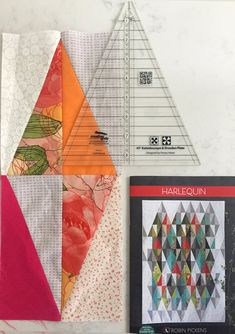 Harlequin Quilt with Creative Grids Kaleidoscope Ruler - Robin Pickens Quilting Projects, Quilting Designs, Quilting Tips, Modern Quilt Blocks, Quilt Block Patterns, Kaleidoscope Quilt, Hello Kitty, Quilt Modernen, Charms