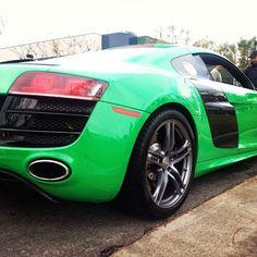 Happy St Patricks Day - Audi R8