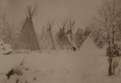 The Winter Camp Richard Throssel Museum of Photographic Arts Native American Quotes, Native American Tribes, Native American History, American Symbols, Eskimo, Trail Of Tears, Winter Camping, Native Indian, Outdoor Art