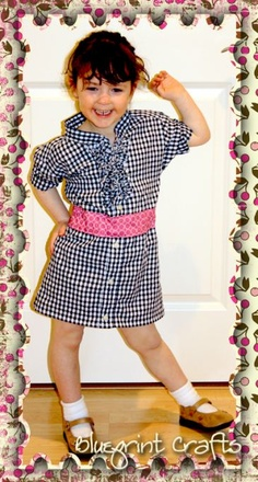 Shirt Dress Refashion