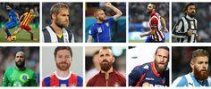 Las 10 mejores barbas del fútbol moderno