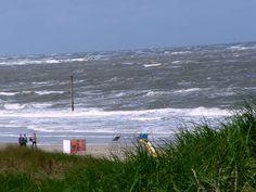 am Strand von Baltrum. Ostfriesland.