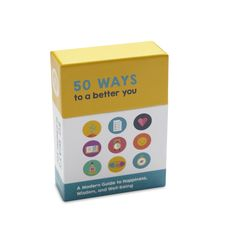 50 WAYS TO A BETTER YOU