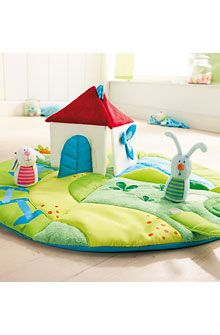 Haba Discoverers Meadow Play Rug at DadaBabyBoutique.com
