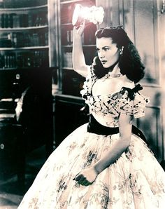 Scarlett O'Hara -- Gone With The Wind--- I played her in a show I was in!!!