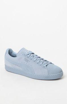 3a59950a983 Suede Classic Tonal Blue Shoes