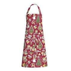 Christmas Moomin red apron by Finlayson
