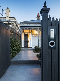 Esjay Landscapes and Pools are Melbourne's Complete Outdoor Package – Design and build your dream pool and landscape with us. Cottage Exterior, Dream House Exterior, Exterior House Colors, Exterior Design, Exterior Homes, Exterior Paint, Edwardian House, Victorian Cottage, Victorian Homes