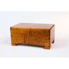 Super Curly Koa Jewelry Box.  Only at Martin & MacArthur 808-845-6688.  After all, Mom Deserves Koa. The perfect gift is made in Hawaii.  Support local craftsmen.