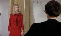 "Catherine Deneuve in ""Belle de Jour"", of Luis Bunuel (1967). Many of the costumes were designed by Yves St. Laurent."