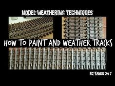Hey Everyone, Here is my simply technique to weather your tracks in any scale RC or static. This can be used on plastic and metal tracks although with metal . Modeling Techniques, Painting Techniques, Plastic Model Kits, Plastic Models, Spitfire Model, Weather Models, Model Tanks, Hobby Photography, Military Modelling