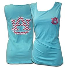 Tank, Comfort Color Au Interlock | Auburn University Bookstore