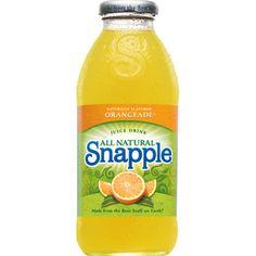Lemon Tea Snapple ❤ liked on Polyvore featuring food and drinks