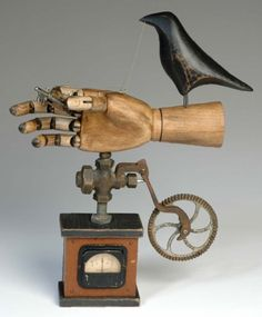 ⌼ Artistic Assemblages ⌼ Mixed Media, Journal, Shadow Box, Small Sculpture Collage Art - Mark Orr   Opposable Thumb Device