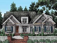Eplans Cottage House Plan