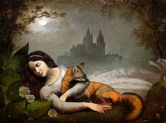 """Dreaming In The Woods"" by Christian Schloe All these pieces are innovative and imaginative."