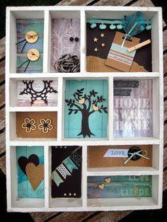 Workshops tbv Ad6 2014, Letterbak - Scrapspul van Colien