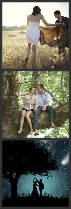 Go on the perfect date.  1) Picnic in a field  2) Walking and talking in the woods  3) Slow dance under the stars