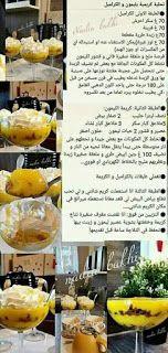 تحليات رمضانية مكتوبة جديد و الناجحة افضل 100 وصفة | حلويات ام وليد Sweet Pancake Recipe, Cantaloupe, Pancakes, Cheese, Fruit, Desserts, Recipes, Food, Lemon Tarts