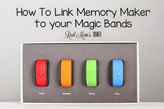 Real Mom's Disney: How to link Memory Maker to your Magic Band