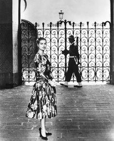 Lors du défilé de la collection croisière 2014 la maison Dior c'est inspiré de la robe que portait la Princesse Grâce en 1956