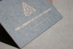 Square letterpress business card moinzek business cards london distillery business cards google search reheart Image collections