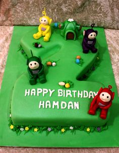 teletubbie cake ideas - Google Search Happy Birthday Adam, 9th Birthday Cake, Funny Birthday Cakes, Birthday Party Treats, Birthday Pins, 9th Birthday Parties, Pokemon Birthday, Boy Birthday, Best Birthday Cake Images