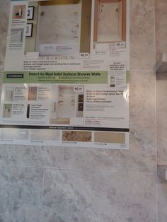 Shower Shelves, Solid Surface, Wall Design, Bathroom Ideas, Cleaning, Personalized Items, Inspiration, Biblical Inspiration, Inspirational