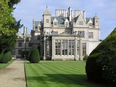 Stoke Rochford Hall, Lincolnshire, England: An 1840s, Grade 1 Victorian Mansion in Grantham, Lincolnshire, now restored as a hotel.