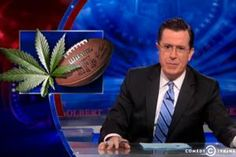 Colbert: Weed and Football Don't Mix